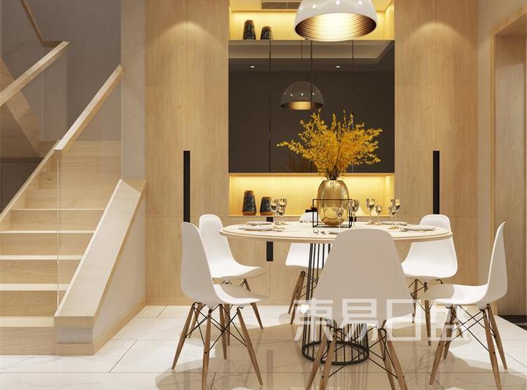 餐厅装修效果图 - 西安装修公司