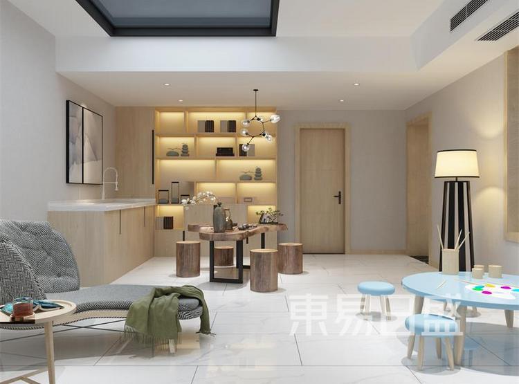 茶室装修效果图 - 西安装修公司