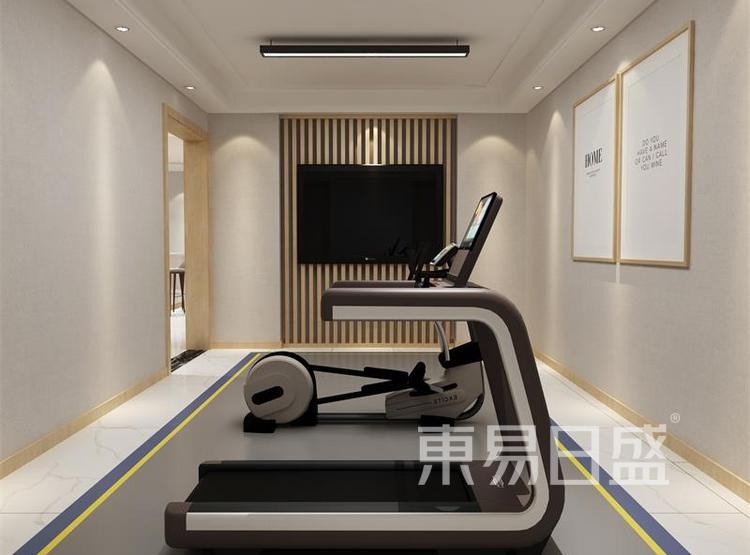 健身房装修效果图 - 西安装修公司