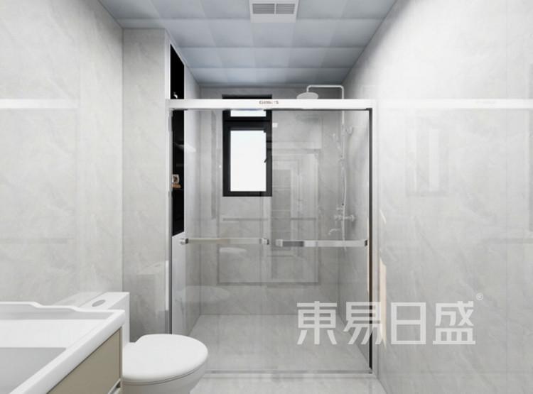 卫生间装修效果图 - 现代轻奢装修风格 - 三室两厅装修