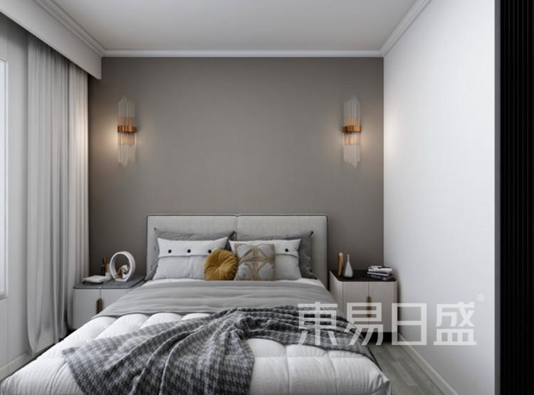 卧室装修效果图 - 现代轻奢装修风格 - 三室两厅装修