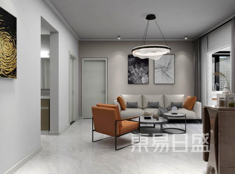 客厅装修效果图 - 三居室装修 - 西安装修公司