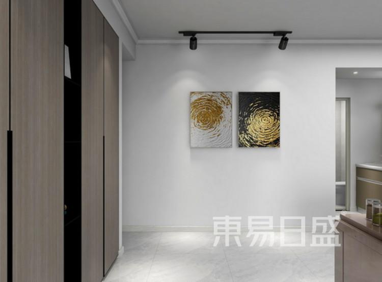 门厅装修效果图 - 三居室装修 - 西安装修公司