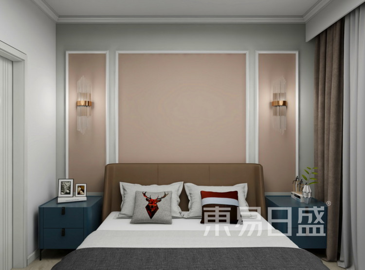卧室装修效果图 - 三居室装修 - 西安装修公司