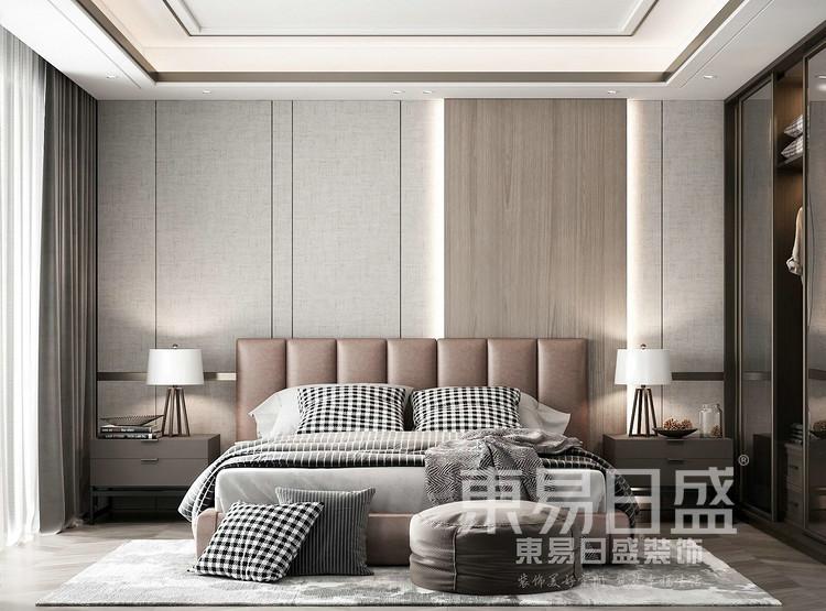 现代轻奢风格卧室装修效果图