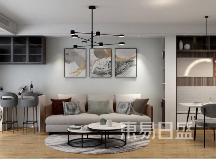 客厅装修公司 - 现代简约风格客厅装修效果图