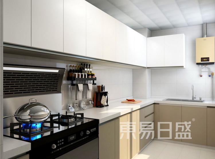 厨房装修公司 - 现代简约风格厨房装修效果图