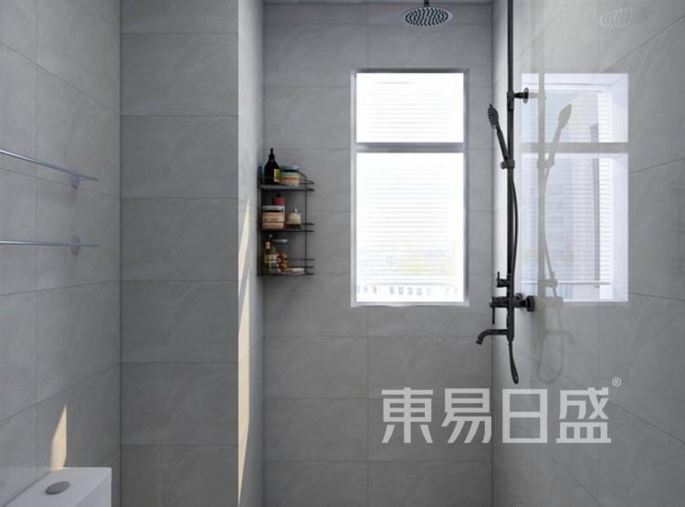 西安卫生间装修 - 现代简约风格卫生间装修效果图