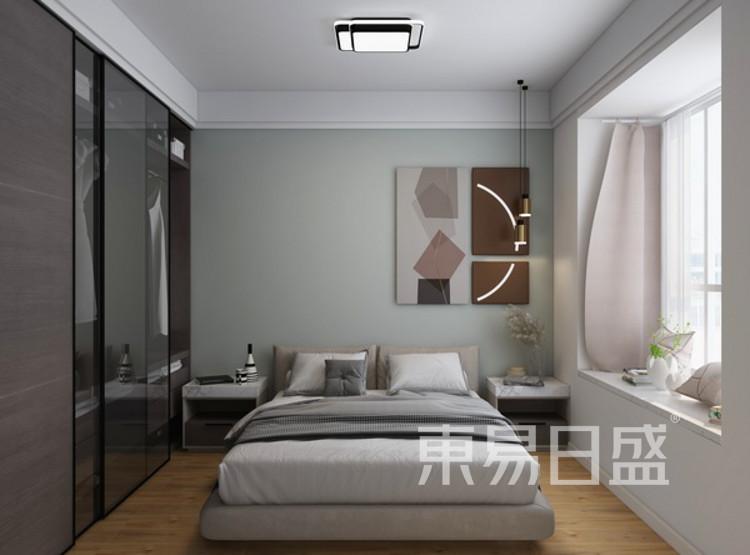 西安卫卧室装修 - 现代简约风格卧室装修效果图