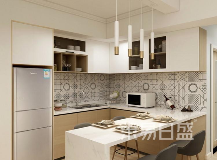 餐厅装修效果图 - 现代简约风格 - 三室两厅装修