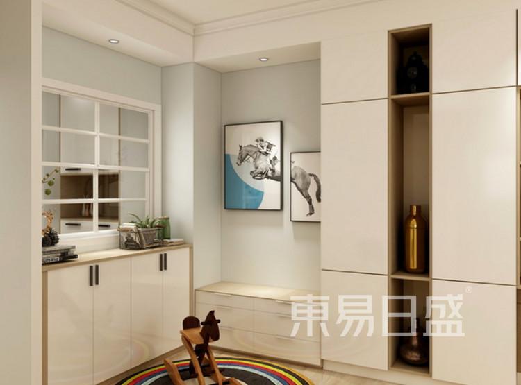 儿童休闲区装修效果图 - 现代简约风格 - 三室两厅装修