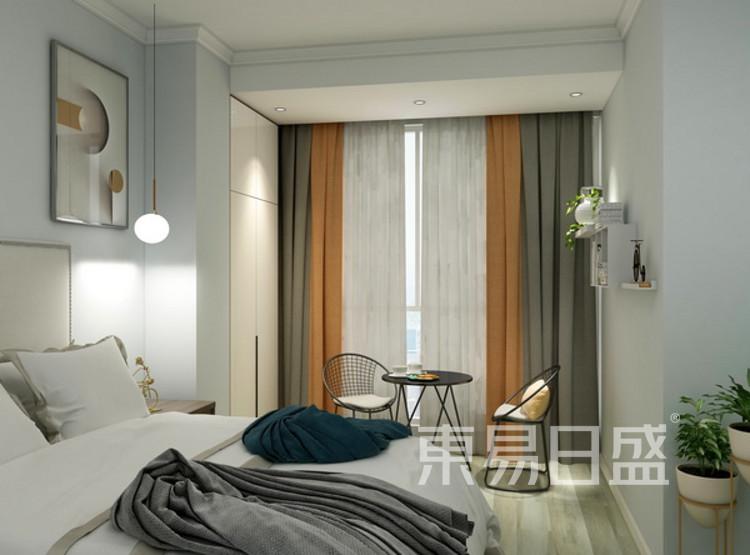 卧室装修效果图 - 现代简约风格 - 三室两厅装修