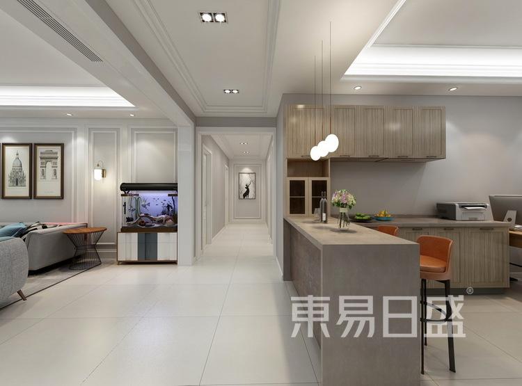 客厅装修效果图2 - 现代简约风格 - 西安装修公司