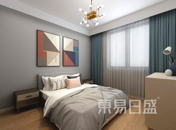 客厅装修效果图4 - 现代简约风格 - 西安装修公司