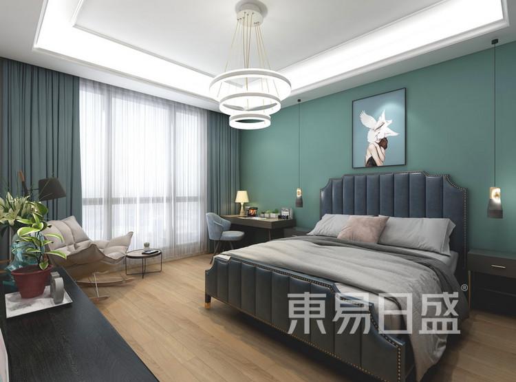 卧室装修效果图 - 现代简约风格 - 西安装修公司