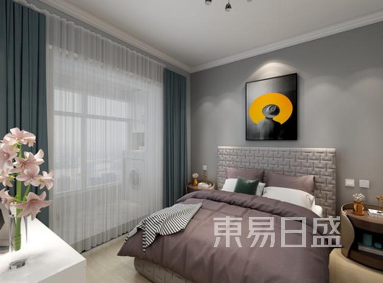 卧室装修 - 现代简约风格装修效果图 - 西安装修公司