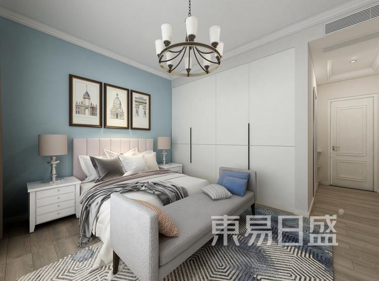 卧室装修效果图 - 间美风格装饰 - 西安装修公司