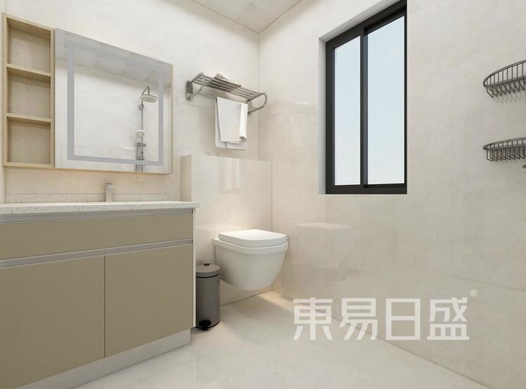 卫生间装修效果图 - 间美风格装饰 - 西安装修公司
