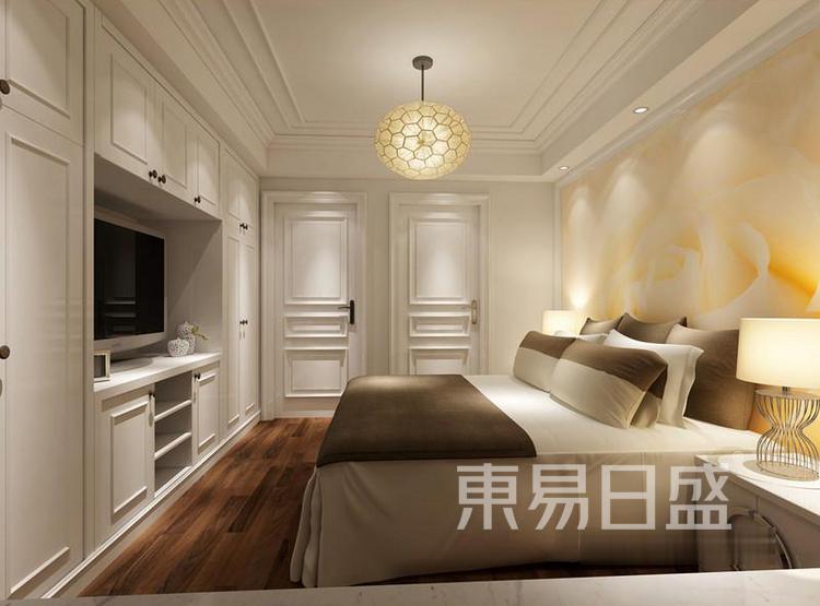江杨家园60平二居室现代风装修设计案例——卧室