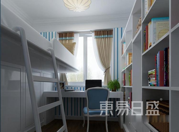 江杨家园60平二居室现代风装修设计案例——儿童房
