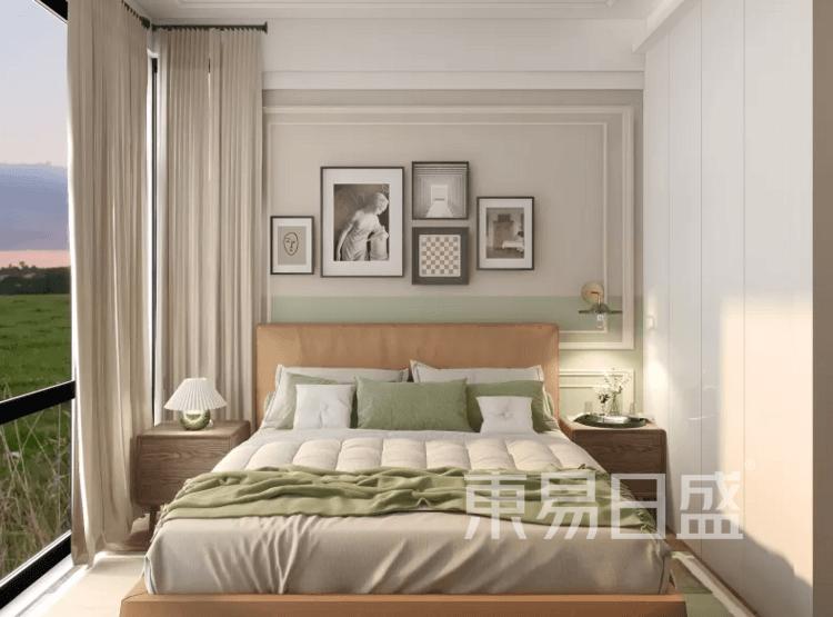 复古北欧卧室装修效果图