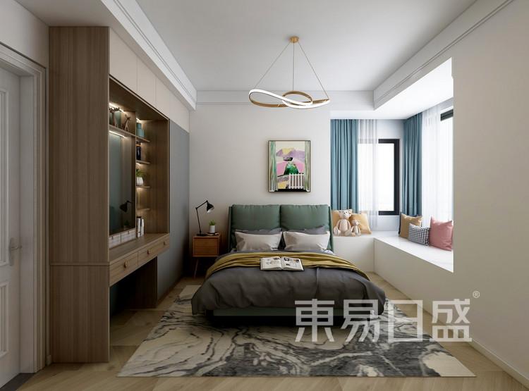 卧室装修效果图 - 北欧风格装修效果图
