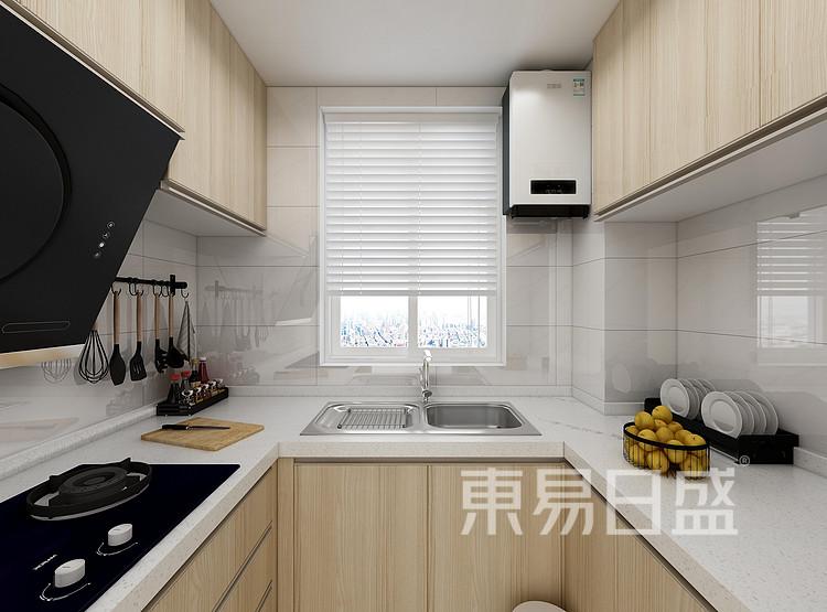 江杨家园80平二居室欧式风格装修案例装修效果图——厨房