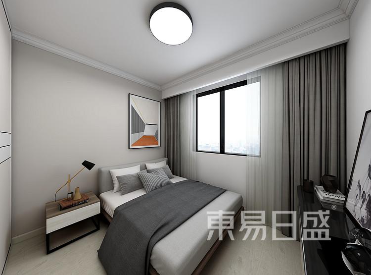 嘉邦小区90三居室现代风格壮戏设计案例——卧室