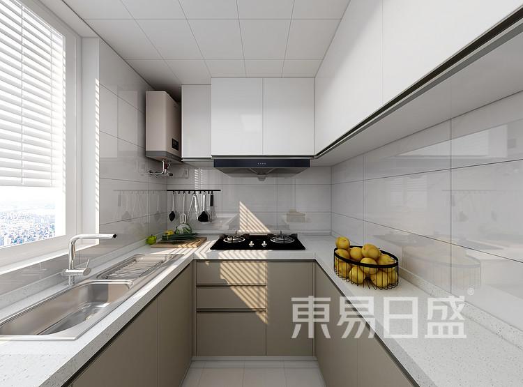 嘉邦小区90三居室现代风格壮戏设计案例——厨房