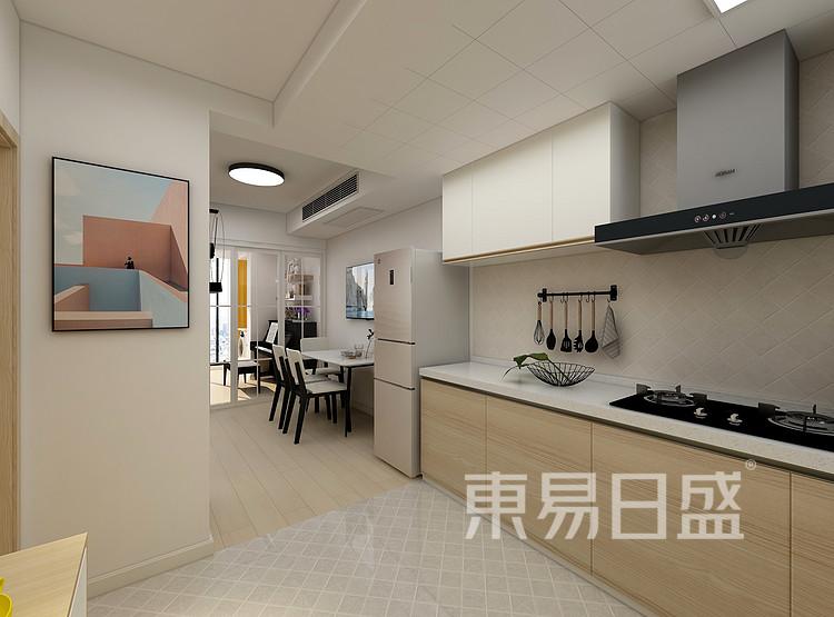嘉邦小区50平小户型北欧风装修设计案例——厨房