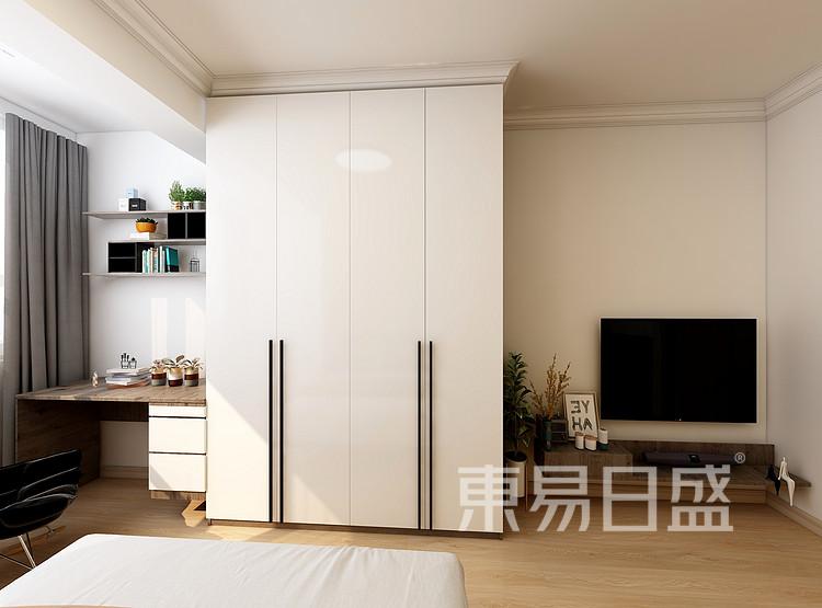 嘉邦小区小户型50平北欧风装修设计案例——客厅
