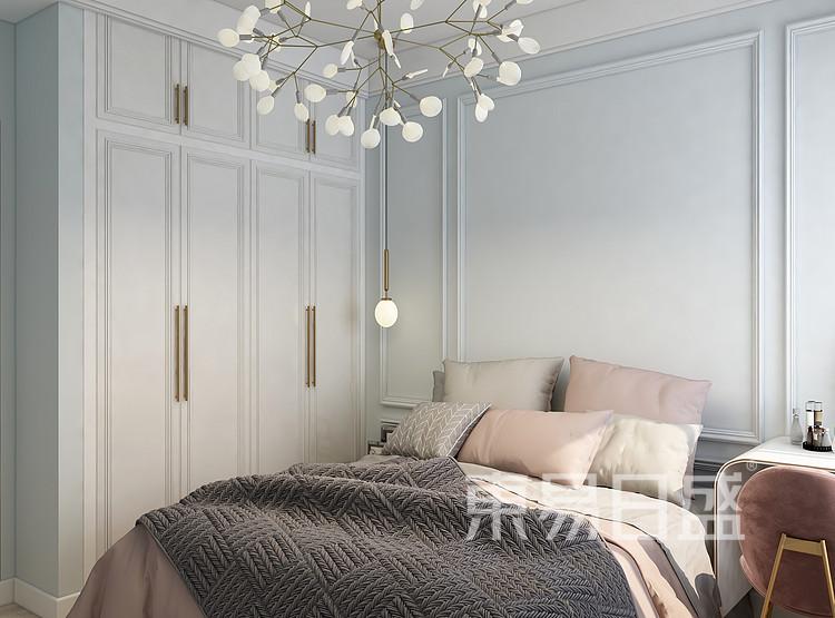 美式轻奢卧室装修效果图