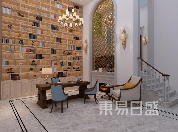 欧式风格茶客厅装修效果图