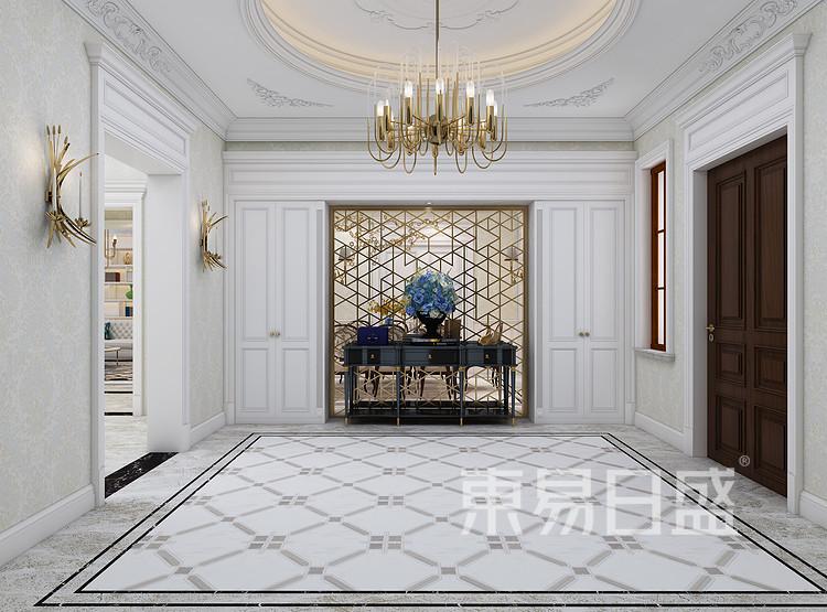 法式风格门厅装修效果图