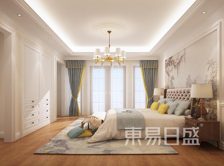 法式风格卧室装修效果图