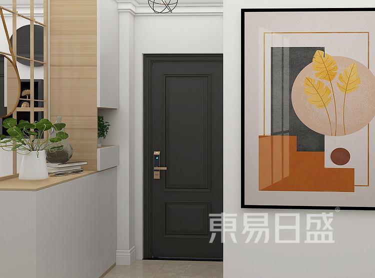 现代简约门厅装修效果图