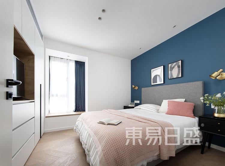 现代北欧卧室装修效果图