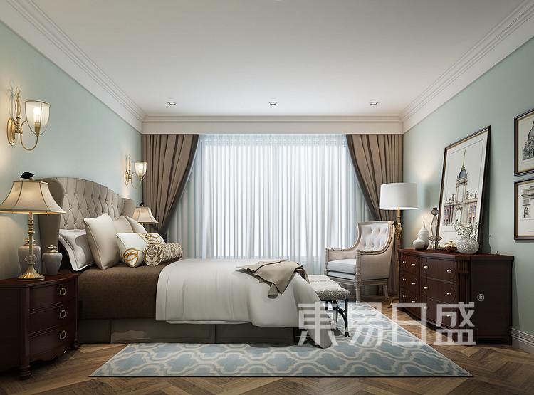 经典美式卧室装修效果图