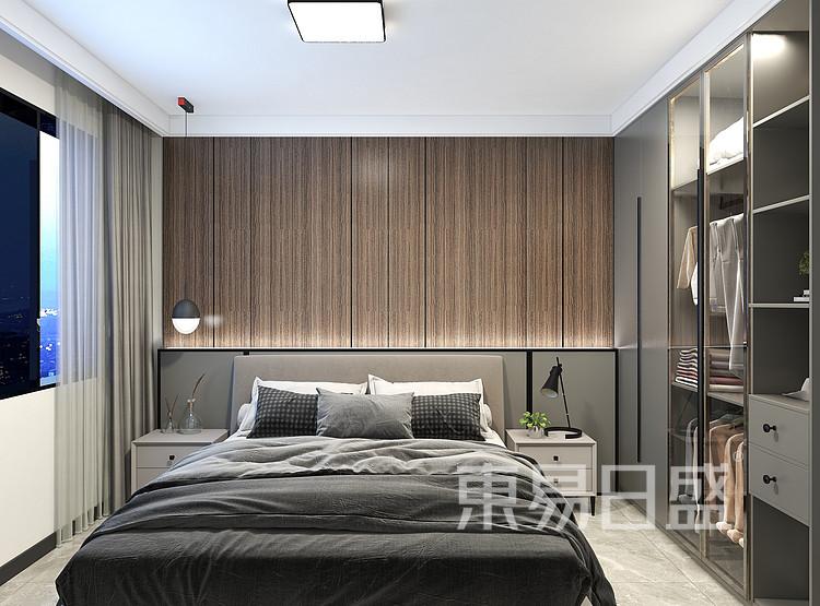 现代港式卧室装修效果图