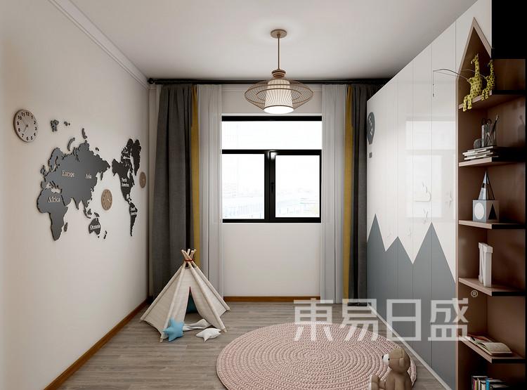 新中式风格儿童房装修设计