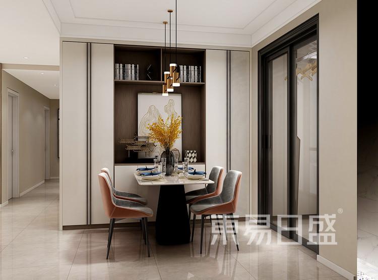 现代简约风格餐厅装修设计