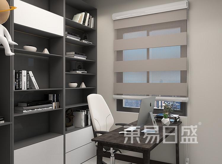 现代风格书房装修设计