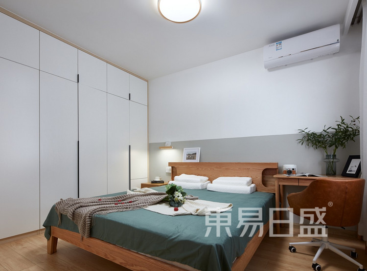 现代风格卧室装修效果图