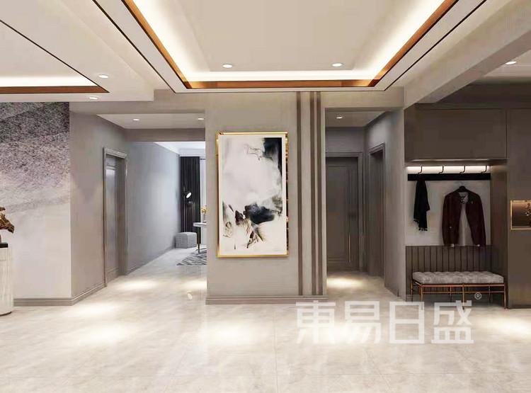 现代轻奢门厅装修效果图