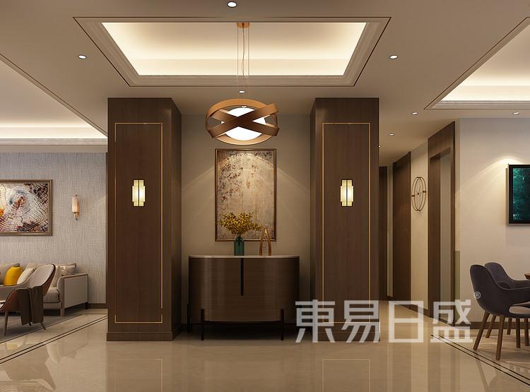 新中式门厅装修效果图