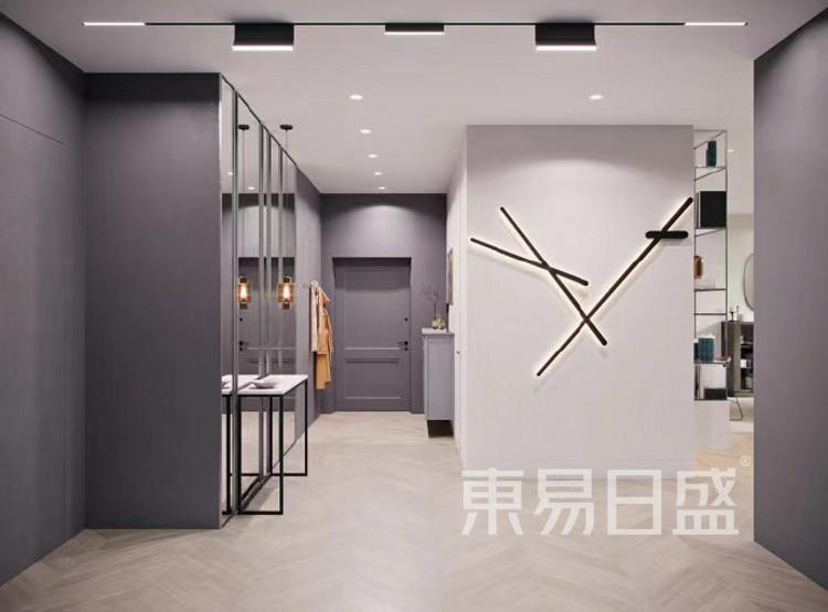 现代简约装门厅修效果图