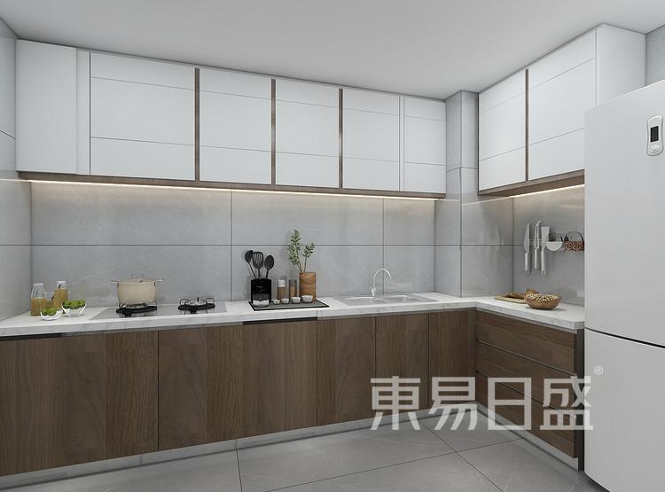 轻奢风格厨房装修效果图