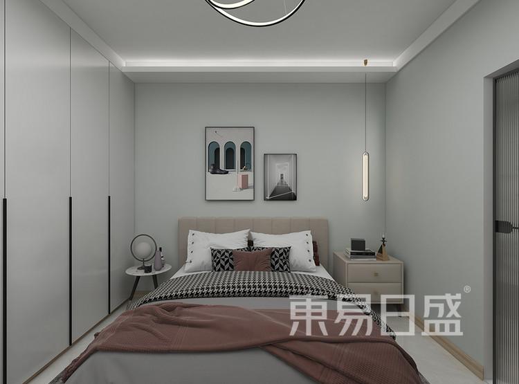 三居室-北欧-卧室装修效果图